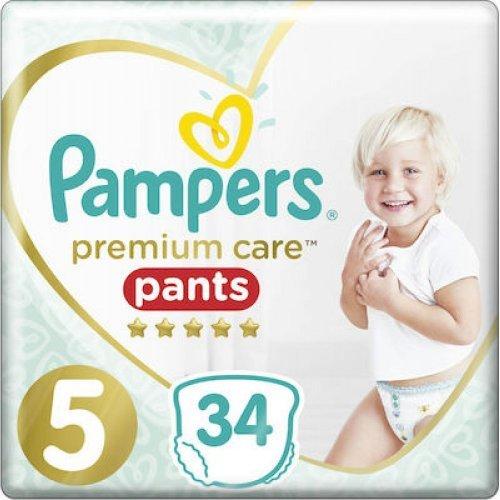 Pampers Premium Care Πάνες No5 (12-17kg) 34τμχ