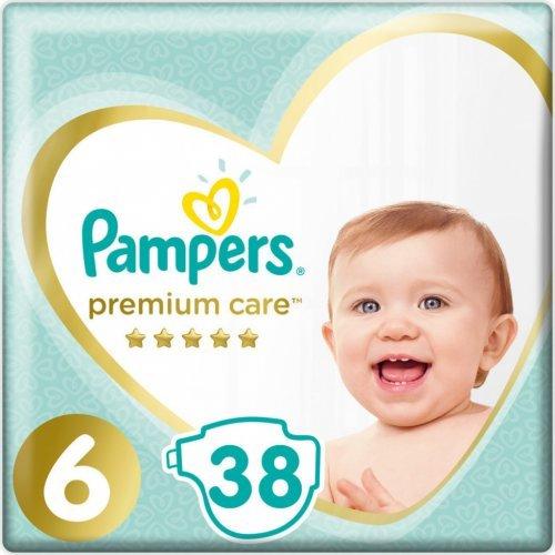 Pampers Premium Care Πάνες No6 (13+kg) 38τμχ