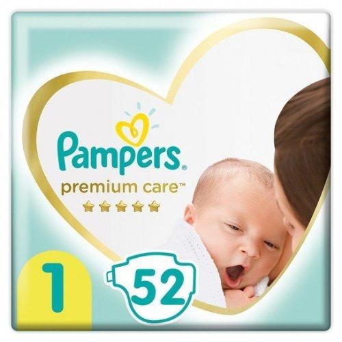 Pampers Premium Care Πάνες No1 (2-5kg) 52τμχ