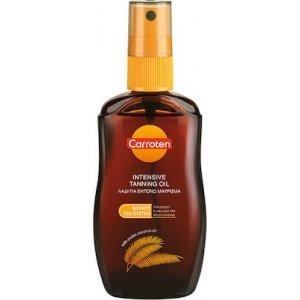 CARROTEN Tan Express Oil SPF0 Αντηλιακό Λάδι Σώματος για Έντονο Μαύρισμα με Έλαιο Καρύδας 50ml