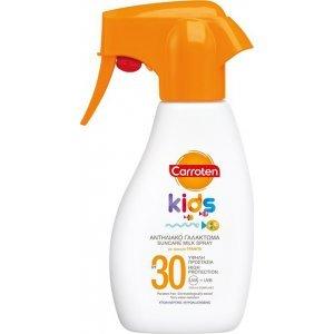 CARROTEN Kids Suncare Milk Spray SPF30 Παιδικό Αντηλιακό Γαλάκτωμα για Πρόσωπο 200ml