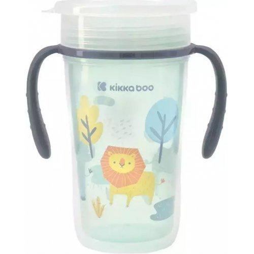 Kikka Boo - Εκπαιδευτικό κύπελλο Sippy cup 360° Lion 3801302030514