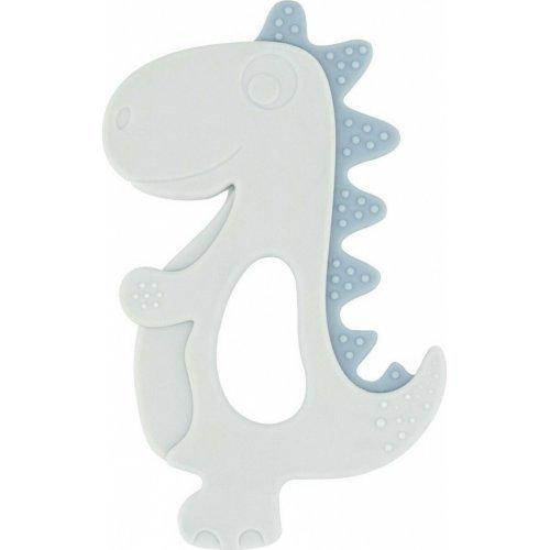 Kikka Boo Μασητικό Σιλικόνης Dinosaur Blue 3801303020286