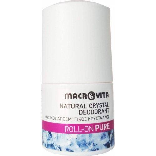 Macrovita Αποσμητικό Roll-On Pure 50ml