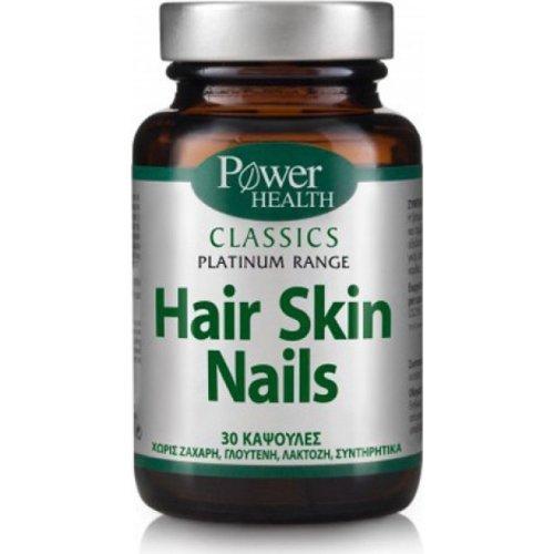 Power Health Hair Tone Nails & Skin 30 κάψουλες