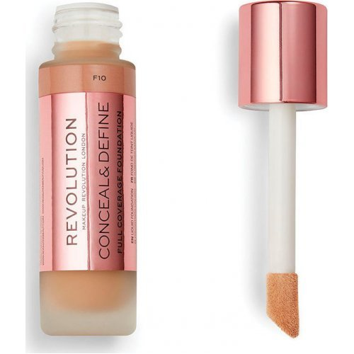 Revolution Beauty Conceal and Define Full Coverage Foundation F10 23ml