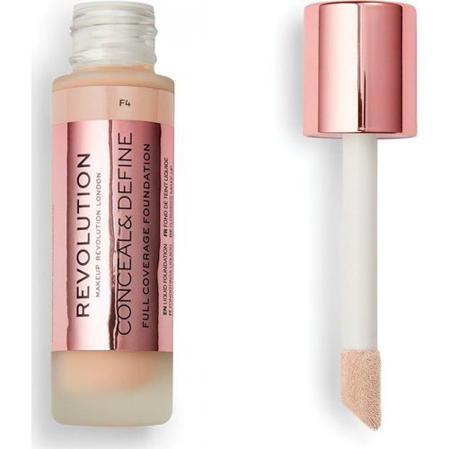 Revolution Beauty Conceal and Define Full Coverage Foundation F4 23ml