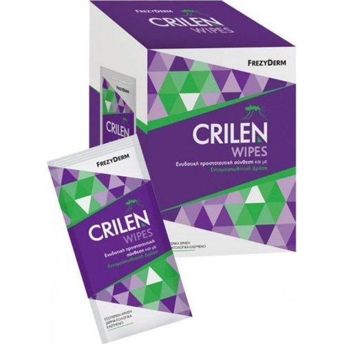 Frezyderm Crilen Wipes σε Ατομική Συσκευασία 20τμχ