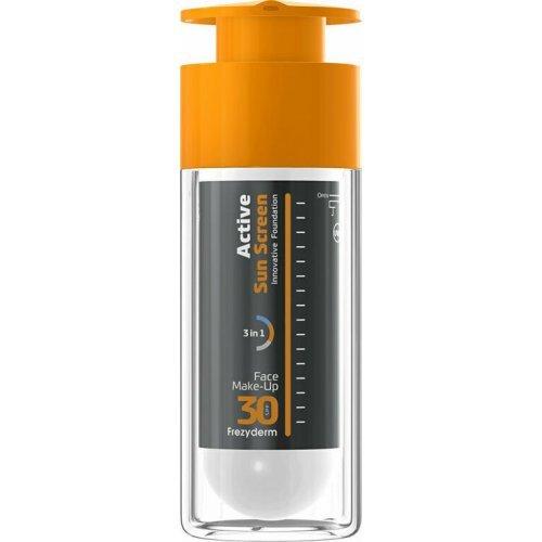 Frezyderm Αντηλιακό Make-up Προσώπου Active Sun Screen Face Foundation SPF30 30ml