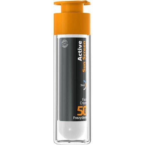 Frezyderm Αντηλιακή Κρέμα Προσώπου Active Sun Screen Face Cream SPF50+ 50ml