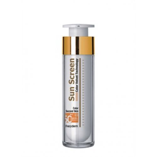 SUN SCREEN COLOR VELVET FACE CREAM SPF 50+ Αντηλιακό με χρώμα 50ml