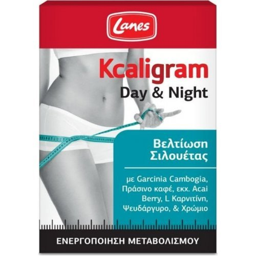 Lanes Kcaligram Day & Night 60 Ταμπλέτες