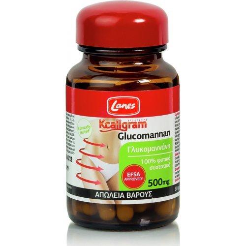 Lanes Kcaligram Glucomannan 60 Κάψουλες