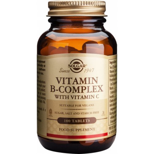 Solgar B-Complex with Vitamin C 100 ταμπλέτες