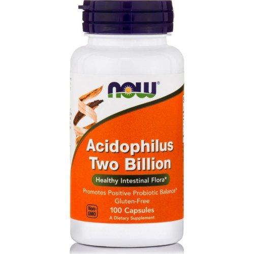 NOW ACIDOPHILUS TWO BILLION 100 Κάψουλες