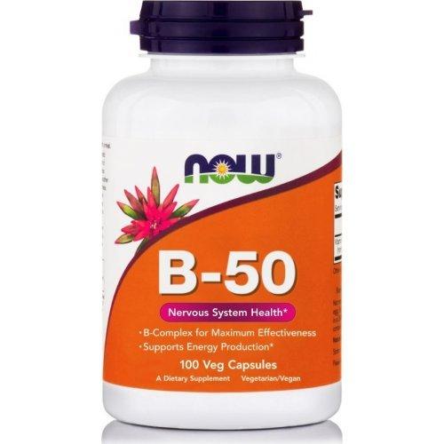 NOW B-50 100 Φυτικές Κάψουλες