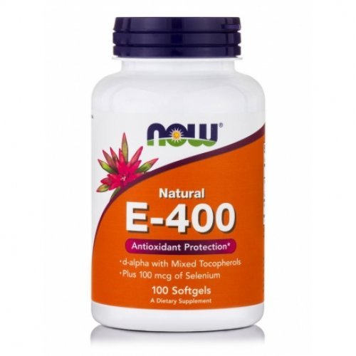 NOW VITAMIN E-400 IU MT 50 Μαλακές Κάψουλες