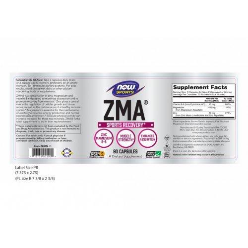 NOW ZMA® 90 Κάψουλες