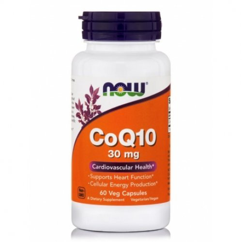 NOW COQ10 30MG VEG 60 Κάψουλες