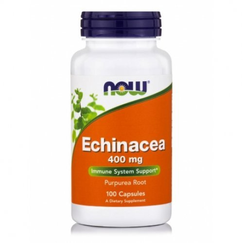 NOW ECHINACEA 400 MG 100 Κάψουλες
