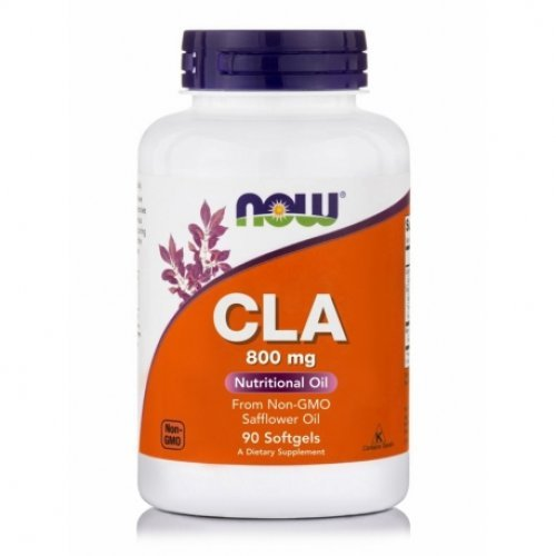 NOW CLA (CONJUGATED LINOLEIC ACID) 800 MG 90 Μαλακές Κάψουλες
