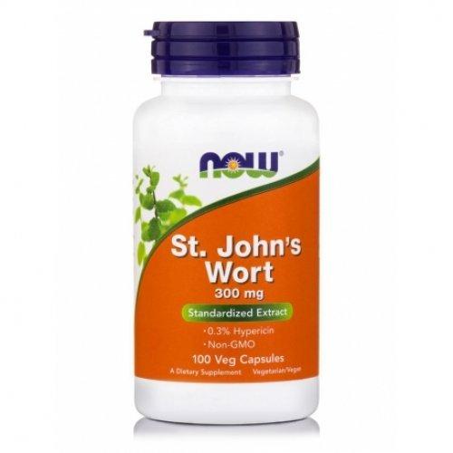 NOW ST. JOHN'S WORT VEG  300 ΜG 100 Κάψουλες