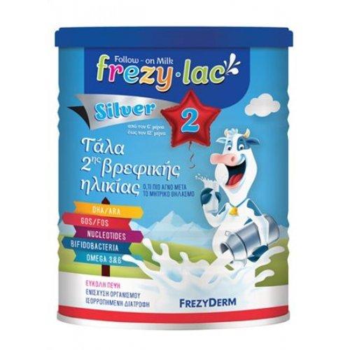 FREZYLAC SILVER 2 Αγελαδινό Γάλα σε Σκόνη 6 - 12 μηνών 400gr
