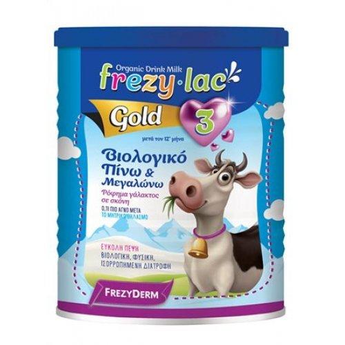 FREZYLAC GOLD 3 Βιολογικό Γάλα σε Σκόνη από 12 μηνών 400gr