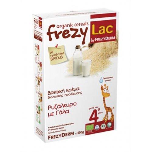Βιολογική Βρεφική Κρέμα FREZYLAC Ρυζάλευρο με Γάλα 200gr