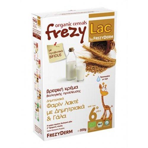 Βιολογική Βρεφική Κρέμα FREZYLAC Φαρίν Λακτέ με Δημητριακά και Γάλα 200gr