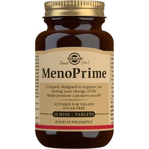 Solgar MenoPrime  Συμπληρώματα Διατροφής για τη Διαχείριση των Συμπτωμάτων της Εμμηνόπαυσης 30 ταμπλέτες