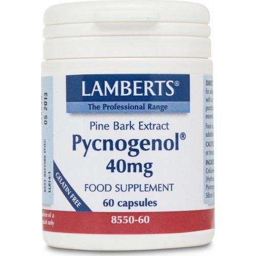 LAMBERTS Pycnogenol 40mg 60 κάψουλες