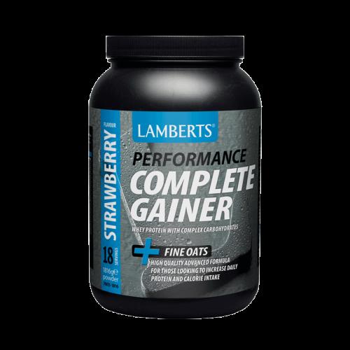 Lamberts Complete Gainer + Fine Oats 1816gr Φράουλα