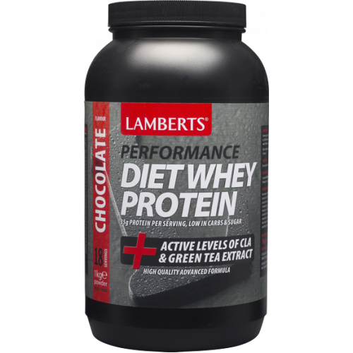 LAMBERTS Diet Whey Protein 1000gr Σοκολάτα