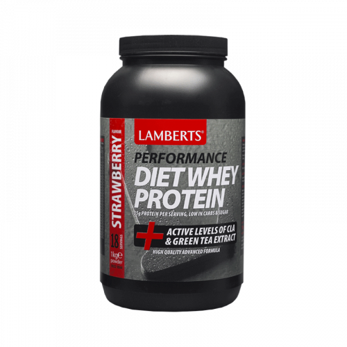 Lamberts Diet Whey Protein 1000gr Φράουλα