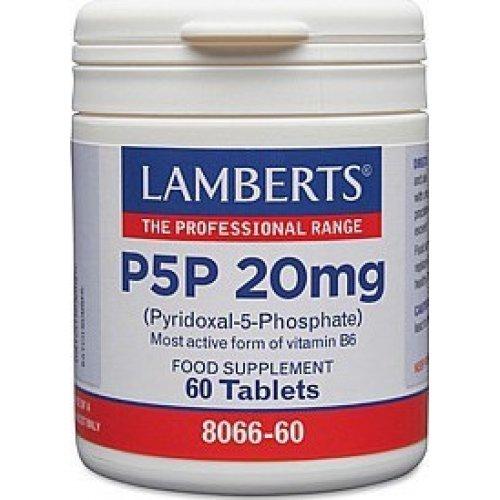 Lamberts P5P 20mg 60 ταμπλέτες