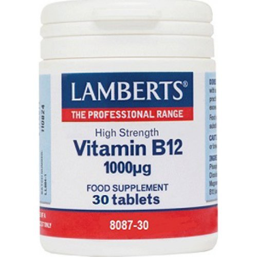 Lamberts Vitamin B12 1000mcg 30 ταμπλέτες
