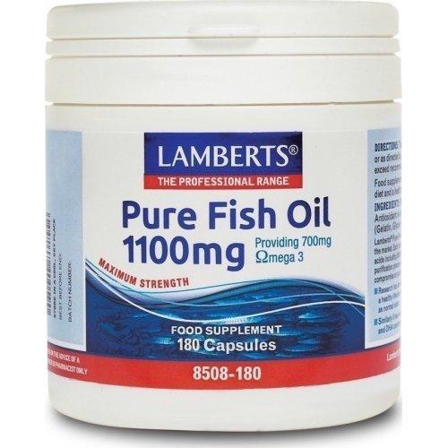 LAMBERTS Pure Fish Oil 1100mg 180CAPS