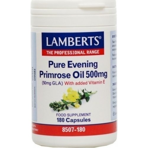 Lamberts Pure Evening Primrose Oil 500mg 180 κάψουλες