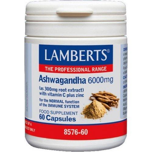 LAMBERTS Ashwagandha 6000mg