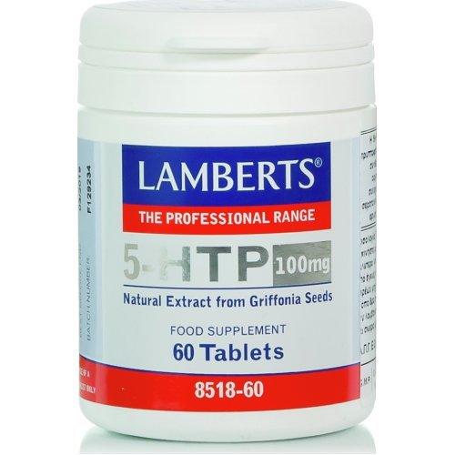 Lamberts 5-HTP 100mg 60 ταμπλέτες