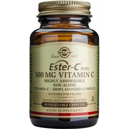 SOLGAR  Ester-C Plus 500mg 50 φυτικές κάψουλες