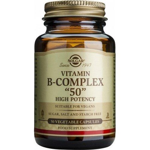 SOLGAR B-Complex 50- 50 φυτικές κάψουλες