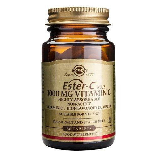 SOLGAR Ester-C 1000mg Vitamin C 30 ταμπλέτες