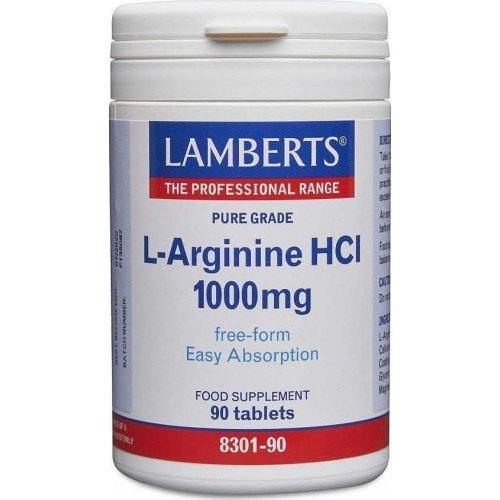 L-ARGININE 1000MG 90TABS