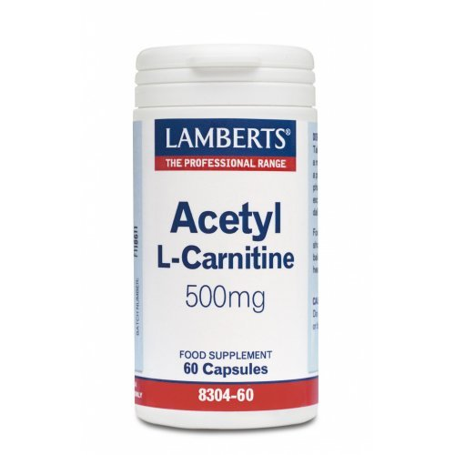 ACETYL L-CARNITINE 500mg 60CAPS