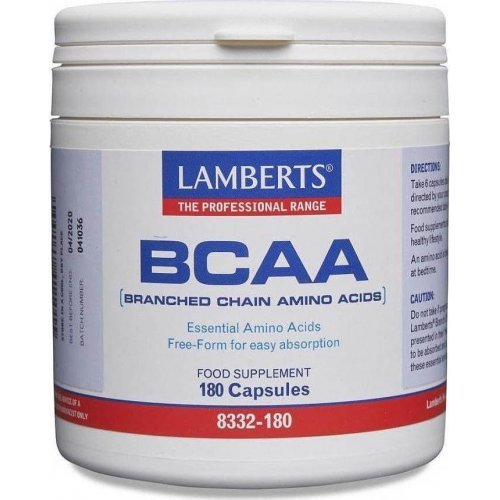 BCAA– Branch Chain Amino Acids 180CAPS