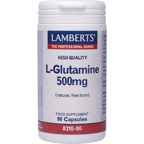 L-GLUTAMINE 500MG 90CAPS