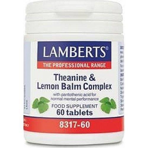 Lamberts Theanine & Lemon Balm 60 ταμπλέτες