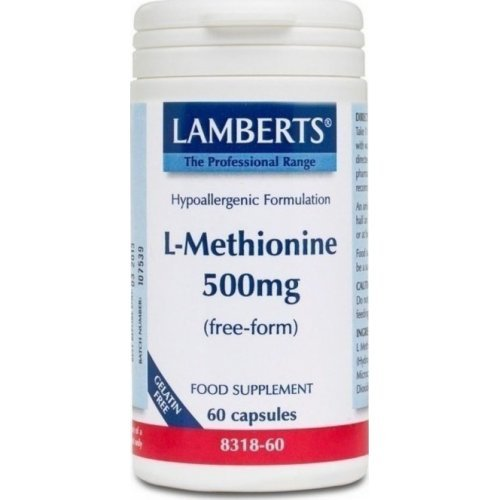 L-METHIONINE 500MG 60CAPS